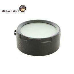Wholesale Led Diffuser Flashlight - New Olight DSR51 Flashlight Diffuser Lens Filter for Hunting fit for SR51 SR52 M2X-UT M3X White Light High Resistance to Heat order<$18no tr