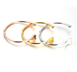 Wholesale Mesh Bracelets China - valentines gifts 2016 Top Quality Stainless Steel Fashion Jewelry C Mesh Cuff Bracelets Bangles, Lovely Bear Bracelets For Women TOP1218