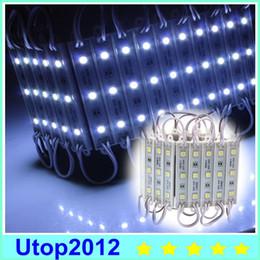1000 unids DC 12V 3LED LED Módulo 5050 SMD panel led Módulo a prueba de agua lámpara de luz led de varios colores blanco rojo verde azul desde fabricantes
