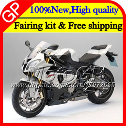 Wholesale Bmw R Motorcycle - Injection Body For BMW S1000R S 1000RR S1000RR 15 16 17 Pearl White 11GP9 S1000 R S 1000 RR S1000 RR 2015 2016 2017 17 Motorcycle Fairing