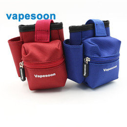 Wholesale Electronic Cigarette Hanging - Vapesoon Bag For Electronic Cigarettes Tank Mod And e-juice Packing Hang Bag For Ecig vapor High quality