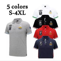 All'ingrosso-2017 Vendita calda Polo Shirt Stati Uniti d'America Bandiera Marca Polo uomo manica corta Polo Sport Man Coat Drop Shippin libero da