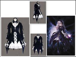 Wholesale Suigintou Cosplay Costume - 2015 New Arrival Limited Fantasias Femininas Fantasia Infantil Halloween Costumes for Rozen Maiden Suigintou Cosplay Costume