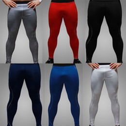 Wholesale Tights For Men Fashion - New Fashion England Style Sexy Tight Pants Men Casual Slim Fit Skinny Sports Pants Men Fast Drying Pants For Men M-XXL
