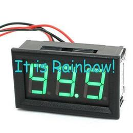Wholesale Dc Digital Amp Meter Green - Wholesale-DC 0-100A 3 Digit Green LED Display Digital AMP Meter Ammeter Amperemeter
