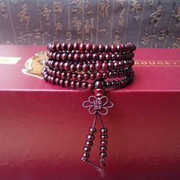 Wholesale China Rosewood - Strand 85cm Fashion Natural Rosewood 5mm Beads Buddha Bracelets Men Women Long Bracelet Bangle Religion Gift Tibetan Jewelry