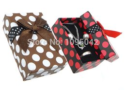 Wholesale Bags Cardboard - Wholesale-Free shipping!!!Cardboard Jewelry Set Box,Beautiful Jewelry, with , Rectangle, mixed colors, 50x79x26mm, 72PCs Bag, Sold By Bag