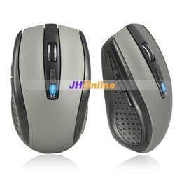 Wholesale Cheapest Notebooks - Wholesale-Cheapest Mini Wireless Bluetooth Optical Mouse 1000 DPI for Laptop Notebook Macbook Free Shipping