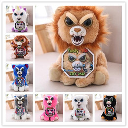 Wholesale Toys For Pranks - Change Face Feisty Pets Plush Toys Stuffed Animal Doll For Kids Cute Prank toy Christmas Gift Stuffed Toy 15 design
