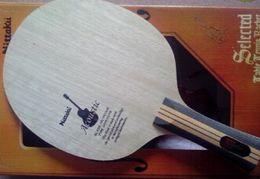 Wholesale Professional Guitars - Nittaku Table Tennis Blades Acoustic Guitar Table Tennis RACKET table tennis Table Tennis Bats   RACKET   Ping Pong