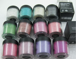Wholesale Wholesale Powder Pigment Eyeshadow - Brand Cosmetic 7.5g Pigment Eyeshadow  Single Loose Eye Shadow Most Glamorous Pigment Matte Shimmer Shade Metallic Shadow Glitter Powder