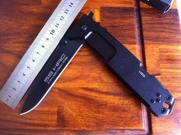 Wholesale Extrema Ratio 6mm - Free Shipping!EXTREMA RATIO nemesis (6mm) 57-58HRC blade folding knife 440C Black Blade 6061-T6 alu handle knives