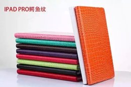 Wholesale Tablet Cover Polka Dot - 360 degree Rotating Rotary Snake Croco Polka Dot Bubble Circle Leather Wallet Case Pouch For Ipad Pro 12.9'' tablet Colorful Stand Cover