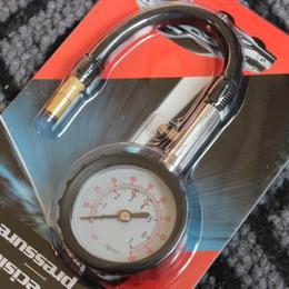 Wholesale Tire Pressure Gauge Wholesale - Free DHL Meter Tire Pressure Gauge 0-100 PSI Auto Car Bike Motor Tyre Air Pressure Gauge Meter Vehicle Tester monitoring system