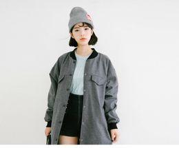 Cappello di lana con etichetta rotonda neutra Cappello con lettere di patch Cappuccio caldo lavorato a maglia da
