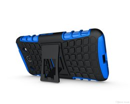 Wholesale E973 Case - TPU+PC Heavy Duty Rugged Cell Phone Protection Hybrid Kickstand Case For LG Optimus G Pro E980 G Ls970 E973 P880 Cover Shockproof