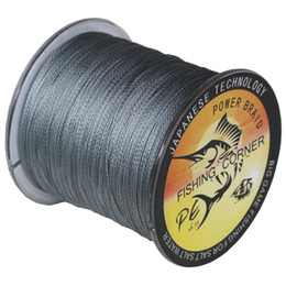 Wholesale Super Black Material - TNT FREE FISHING CORNER Super Strong Japanese Braided Fishing Line 500m Multifilament PE Material BRAIDED LINE 10-100LB
