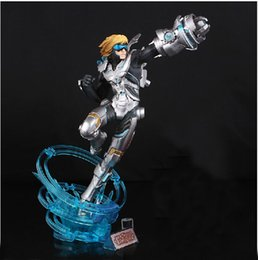 Wholesale Ezreal Figure - 30CM LOL Ezreal PVC Action Figure Model Toy Free Shipping