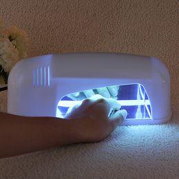 Wholesale Uv Gel Light Bulbs - Professional 110-220V 9W Nail Art Polish Dryer Bulb Lamp UV Gel Acrylic Cur-ing Light Spa Kit Nails Beauty Tools Hot Sale