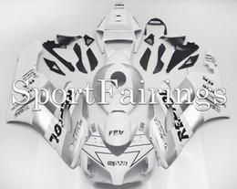 inyección de carenado zx14 Rebajas Carenado completo para Honda CBR1000RR 2004 2005 04 05 Kit de carenados de plástico Abs Body Silver Silver Repsol