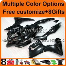 Wholesale Honda Cbr125r Fairings - 23colors+8Gifts BLACK motorcycle cowl for HONDA CBR125R 2004-2005 04 05 CBR 125R 04-05 ABS Plastic Fairing