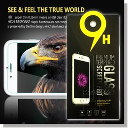 Wholesale Iphone Galaxy Screen - For Iphone 7 A3 A5 A7 J3 J5 J7 2017 Tempered Glass Screen Protectors 2.5D Explosion Shatter Screen Protector In box