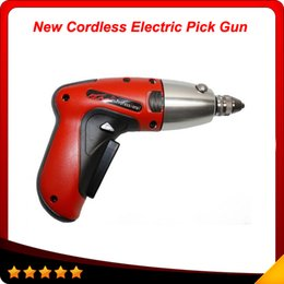 Wholesale New Klom Electric Pick Gun - 2014 Top selling KLOM New Cordless Pick Gun locksmith tool rechargeable electric pick auto lock opener free shiping