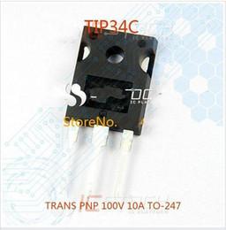 Wholesale Trans Wholesale - TIP34C TRANS PNP 100V 10A TO-247