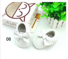 Wholesale Rubber Exports - Baby toddler shoes leather soft bottom step before foreign trade export of baby shoes indoor shoes for children