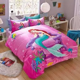 Dropshipping Little Mermaid Twin Bedding Set UK Free UK Delivery