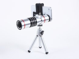 Wholesale iphone lens set - Universial 18X Optical Zoom Telephoto Phone Lens Set Mobile phone Telescope lens For iphone Samsung huawei smartphones with retail box