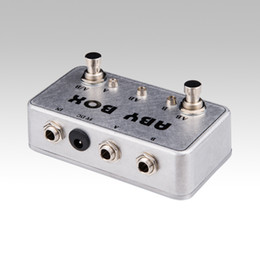 Wholesale NEW ABY Selector Combiner Switch AB Box New Pedal Footswitch BRAND NEW CONDITION