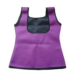 Wholesale Girls Outdoor Vests - Wholesale- Girls Women Fitness Stretch Yoga Exercise Vest Sport Bras Hot Slimming Outdoor Fat Burning Fitness Body