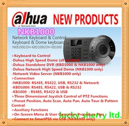 Wholesale Ptz Dome Keyboard Controller - DAHUA Tech Security Accessories High Speed Dome (all models) Network Keyboard Controller PTZ Control Keyboard without DAHUA Logo NKB1000