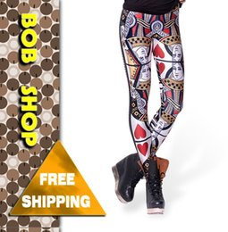 Wholesale Queen Hearts Leggings - w1209 Bob shop , LG076,2014 new QUEEN OF HEARTS LEGGINGS for women ,black milk on wholesale and free shipping