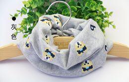 porta sciarpa invernale Sconti sciarpa in cotone per bambini kids boy girl Anello Sciarpe Scialle Unisex Inverno maglia orsetto Collar Scaldacollo nuovo 2015