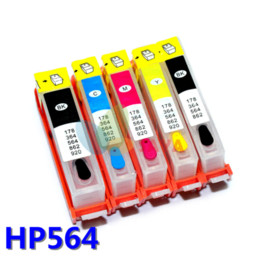 Wholesale Ink For Hp Photosmart - Ink tank For hp photosmart 6510 6512 6515 6520 7515 7520 B8550 C6340 C6350 D5445 D7560 Refillable Ink cartridge ARC AUTO Chips