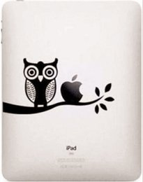 Wholesale New Ipad Decals - Wholesale-Fashion New Funny Cartoon PVC Waterproof Case Cover Sticker Tablet Laptop Decal For Apple iPad 1 2 3 4 Mini Air For Mac T02