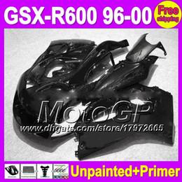 Wholesale 98 Gsxr Fairings - 7gifts Unpainted+Primer Fairing For SUZUKI GSX-R600 96-00 GSXR600 GSXR 600 96 97 98 99 00 1996 1997 1998 1999 2000 Fairings Bodywork Body