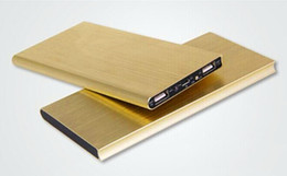 Baterías de sumsung online-Cargador portátil Ultra-Thin Dual USB 10000mah Power Bank Cargador externo para iPhone 5 6 más 6S iPad para Samsung Sumsung Xiaomi