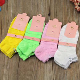 Wholesale Cheap Slipper For Women Wholesale - Wholesale-20pcs=10pairs lot women cotton socks Summer cute candy color cheap boat socks for female ankle sock solid color sock slippers