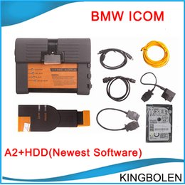 Wholesale Icom A2 Software - 2016.3 newest software for BMW ICOM A2+B+C Multiplexer Diagnostic & Programming Tool For BMW Multi-language High Quality DHL Free Shipping
