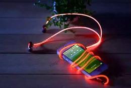 CHpost Fluxo Visível LED Piscando Luz Brilho Esporte Estéreo Na orelha Fone De Ouvido Fone De Ouvido Fone De Ouvido Earbud JH6 de Fornecedores de fones de ouvido de flash