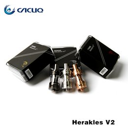 Wholesale Ego Refills - Original Sense Herakles V2 2.0ML Sub ohm Tank Top Refill Airflow Control Tank 510 eGo Thread Atomizer