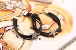 Wholesale Fashion Bracelets Online - Top Grade Infinity Bracelets Hot Sale New Fashion Leather Charm Bracelet Vintage Jewelry Wholesale Free Shipping Online- 0258WH