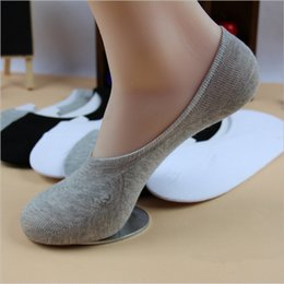 Wholesale Mens White Loafer - Wholesale-Mens Crew Sock 20Pcs Lot Summer Sport Cotton Socks Men Classic Brief Invisible Loafer Moccasins No Show Socks