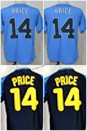 Wholesale Clock M - 100% Stitched 14 David Price Dark Blue 1970 Turn Back The Clock Jersey Embroidery Logos Cheap Sale