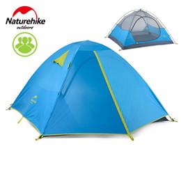Vente en gros - NatureHike Outdoor Tents 3-4 Person Automatic Camping Tent Camping Equipment Sun Shelter Pop Up Tente de plage de voyage ? partir de fabricateur
