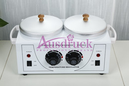 Wholesale Wax Warmers - NEW design Wax Warmer double Heater Paraffin Skin Care Spa Machine