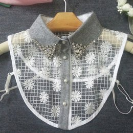 Wholesale Woven Necklace For Sale - Hot Sales Spring Women Blouse Lace False Collar Fashion Sexy Lace Detachable Collar Necklace for Women OJ0028 kevinstyle